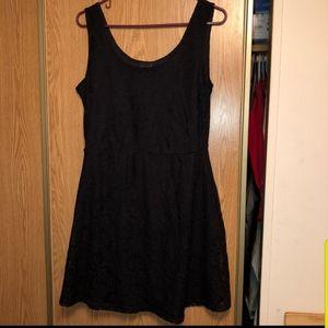 Metaphor | Black Lace Dress